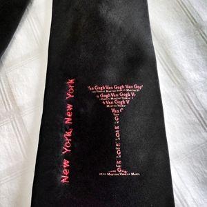 New York Martini Men's Necktie